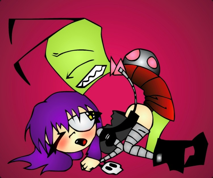 how tallest invader are the zim tall Total drama katie and sadie