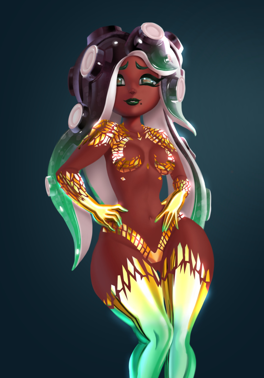 splatoon marina is how from old Marvel quasar phyla-vell